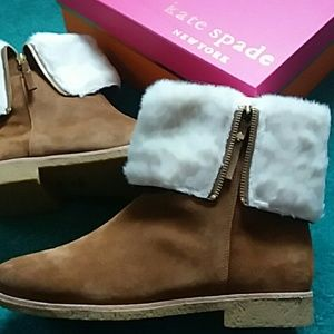 Kate Spade Baja winter boots NWT size 10m